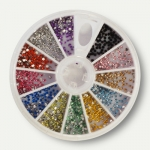 Carrousel 600 strass ENVIRON ronds multicolores